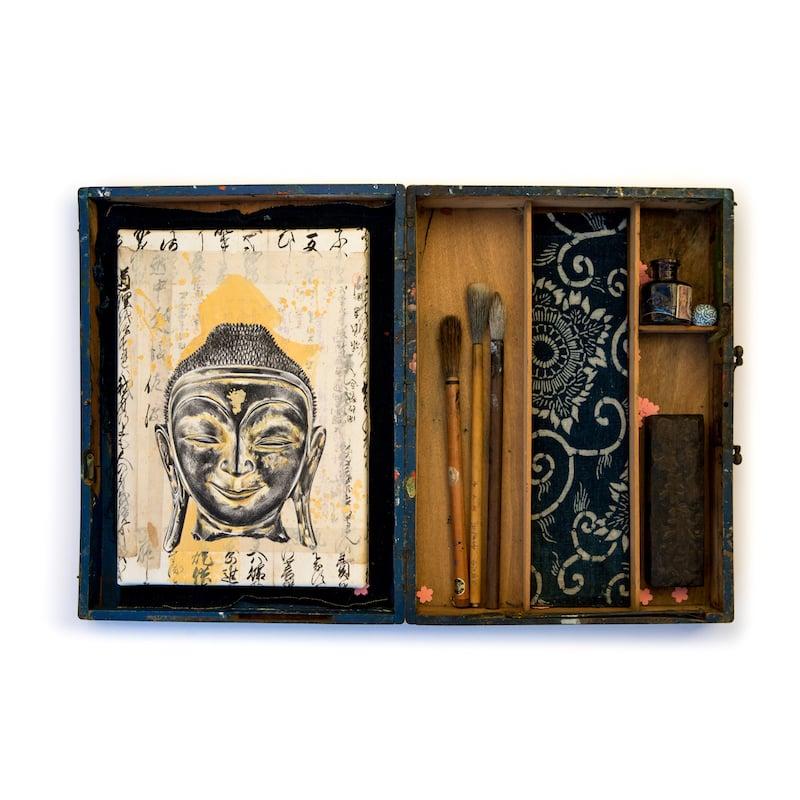 """Image of Boîte à trésors - """"Bouddha et Katazome"""""""
