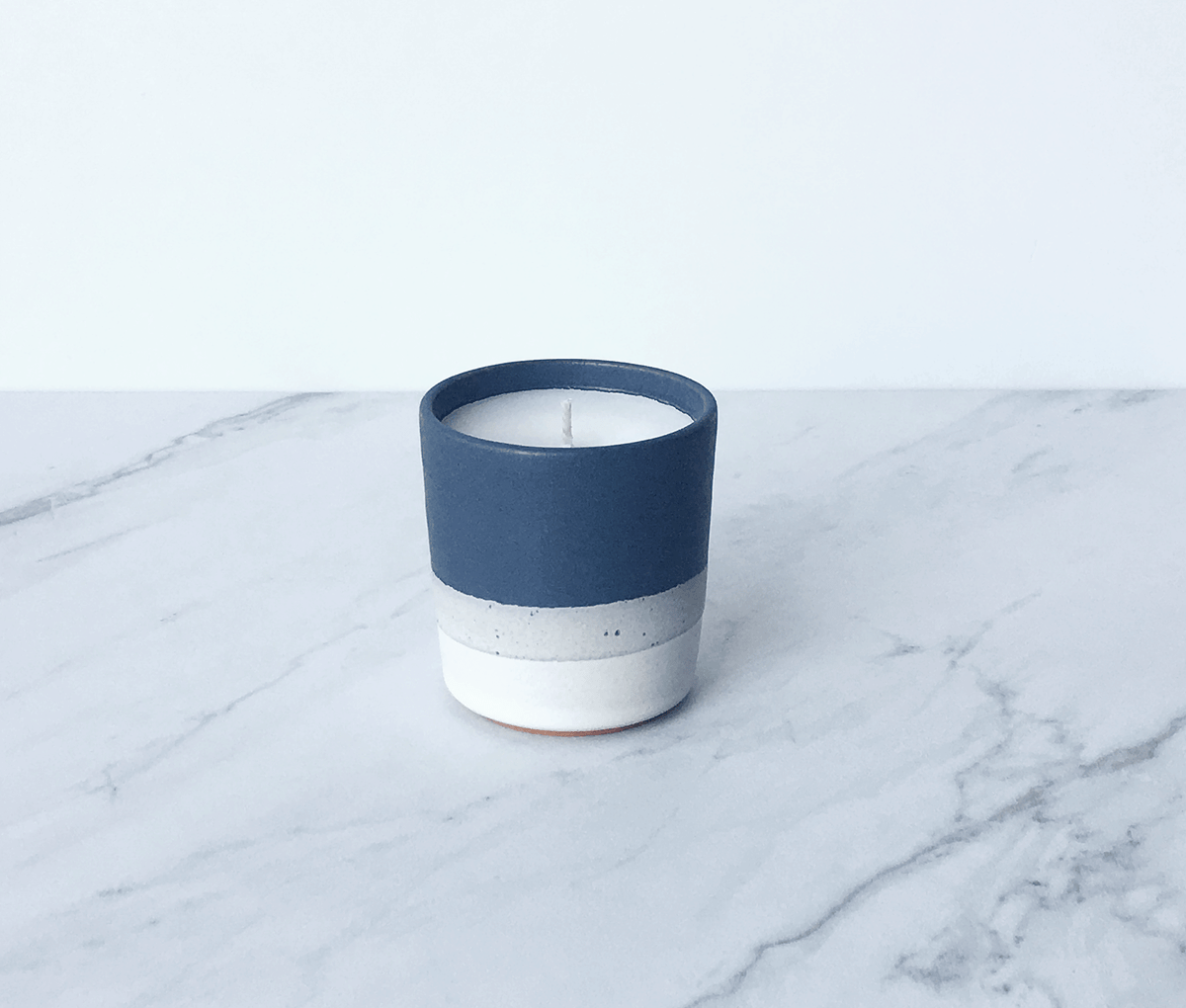 Image of HOMME, coconut wax scented candle in ceramic cup