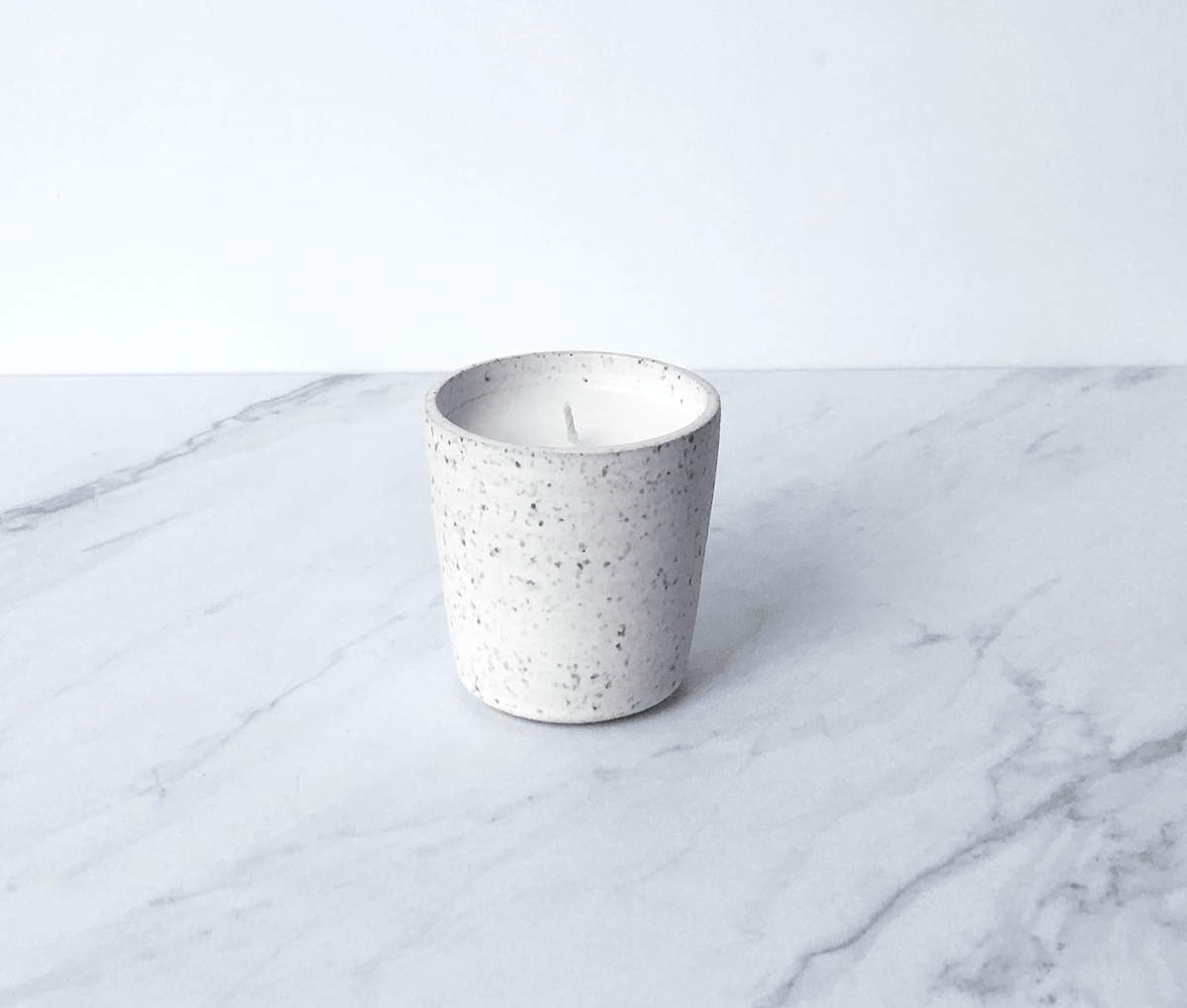 Image of GILDED WOODS, coconut wax scented candle in ceramic cup