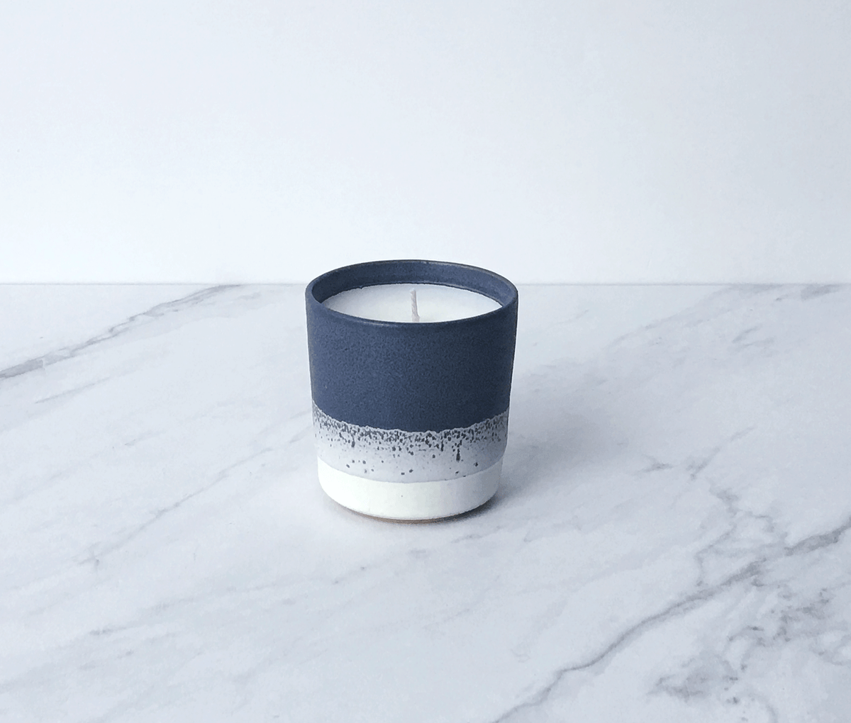 Image of VETIVERR, coconut wax scented candle in ceramic cup