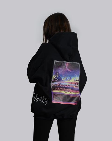 Image of cyberpunk hoodie