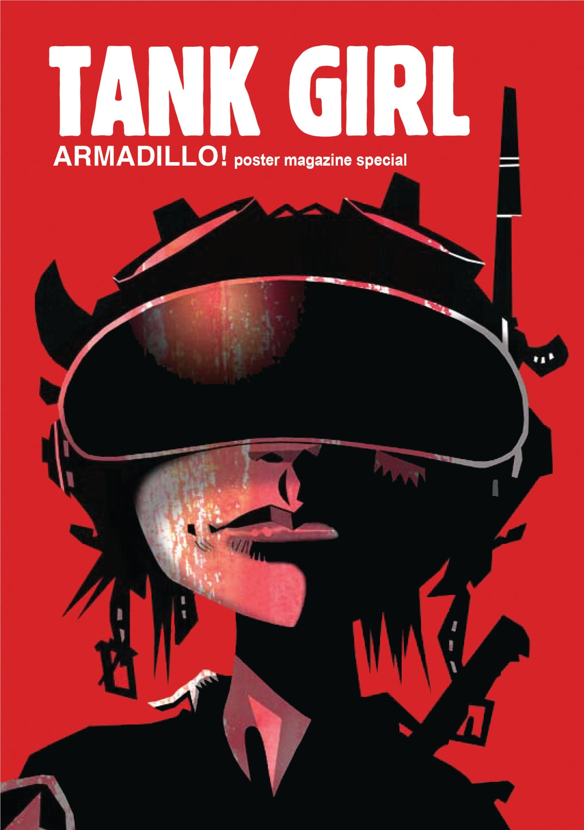 Image of Tank Girl: Armadillo! Poster Magazine - with bookmark and print!