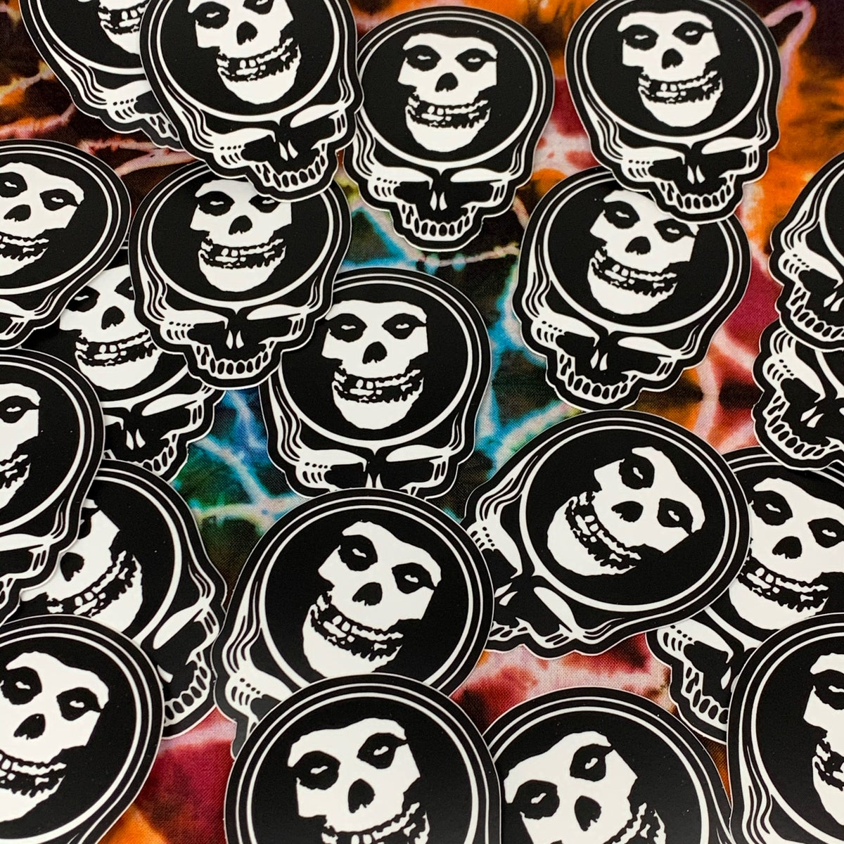 Misfits Stickers!! 3x3 Die Cut