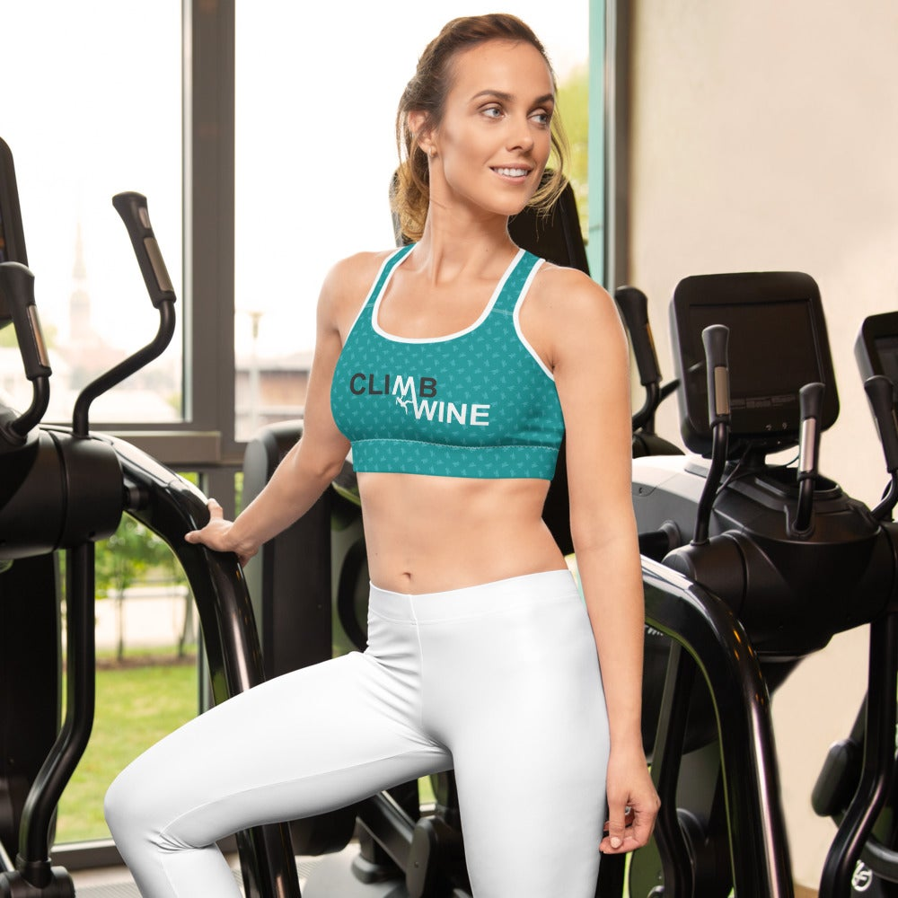Image of Sports Bra: Teal