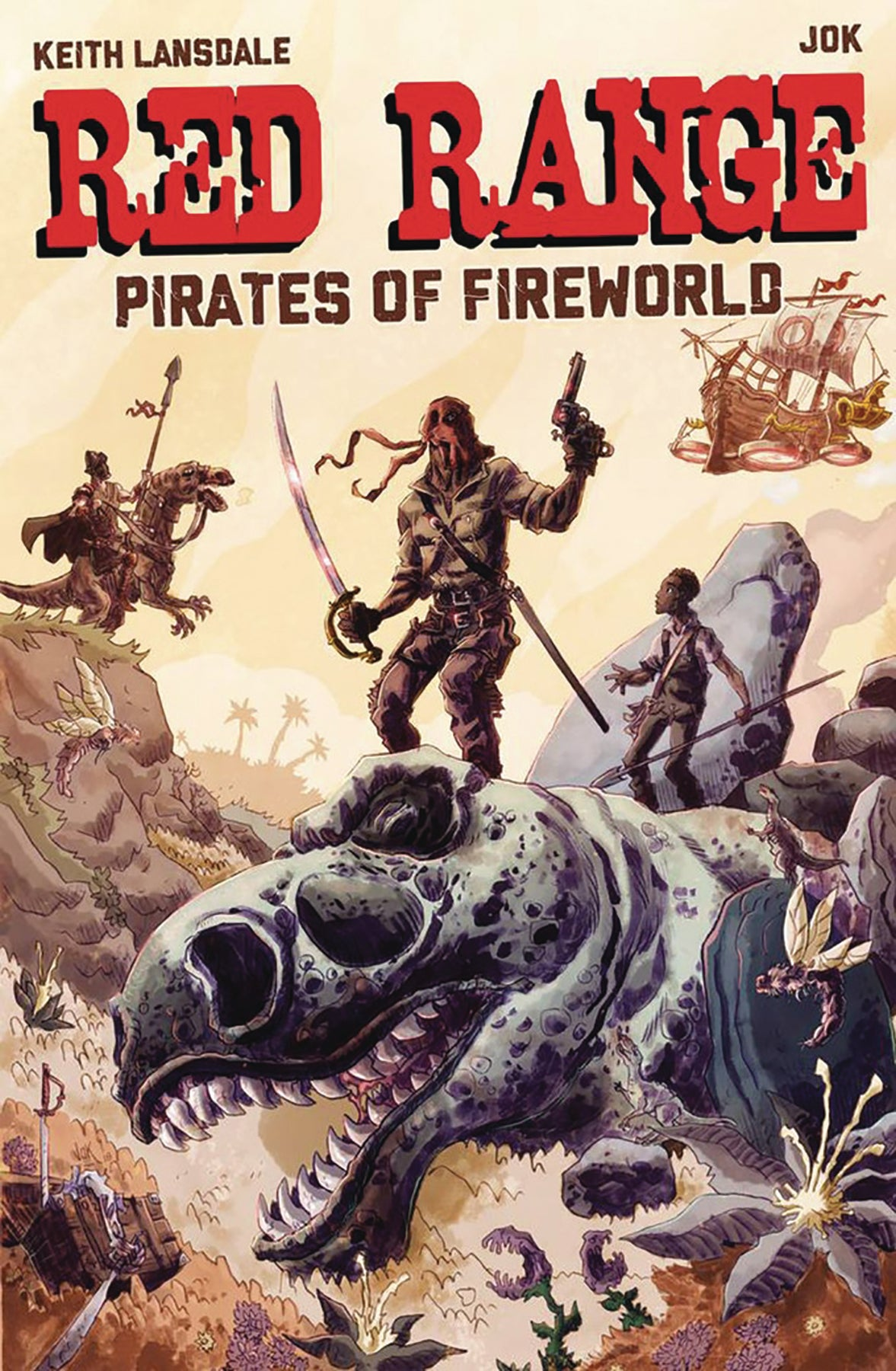 Image of RED RANGE: PIRATES OF FIREWORLD (CHPATER ONE)