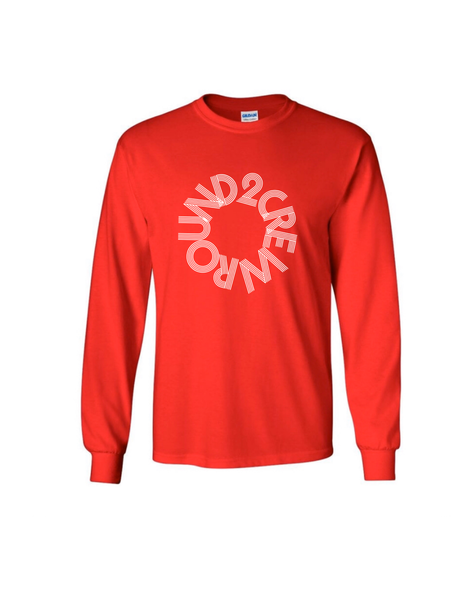 Image of Red Circle Round2Crew Long Sleeve