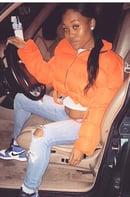 Image 4 of Safety Orange Kay Puffy Jacket