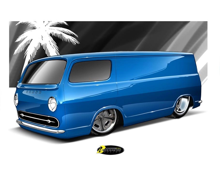 Image of Custom Van