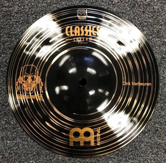 """Image of Meinl Dirk Verbeuren Custom Classics Dark Splash 10"""" - Very LTD ED."""