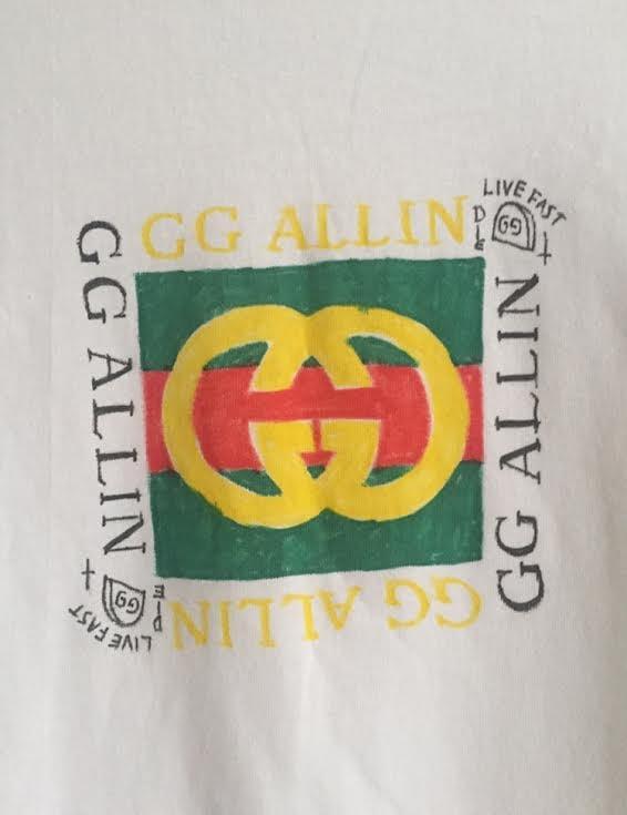 Image of GG hand drawn shirt