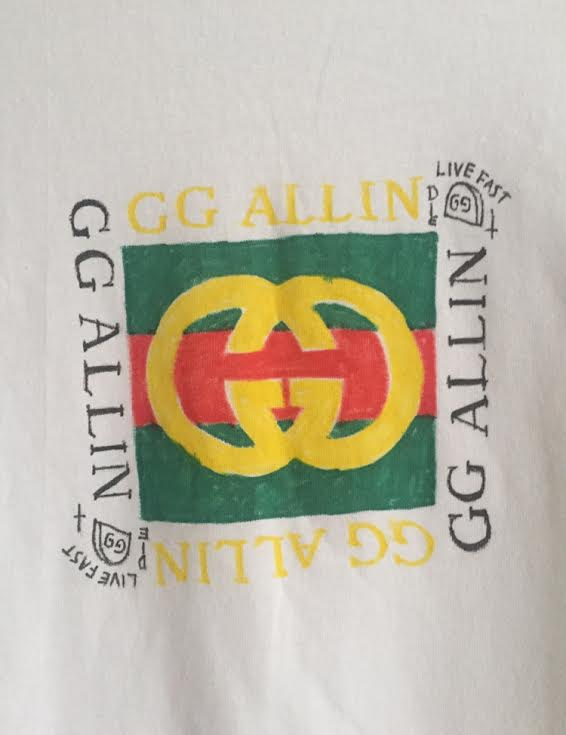Image of GG hand drawn shirt