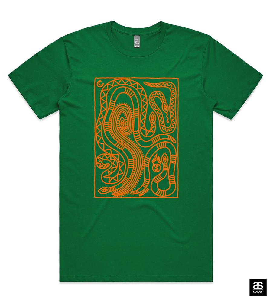 Image of Snakey Unisex Tshirt