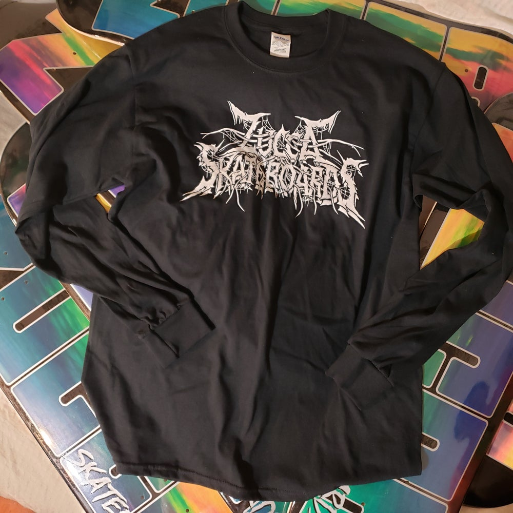 Image of Zucca Black Metal Long Sleeve