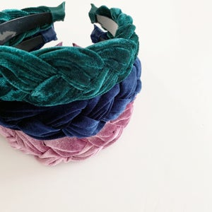 Image of Velvet Braid Headband