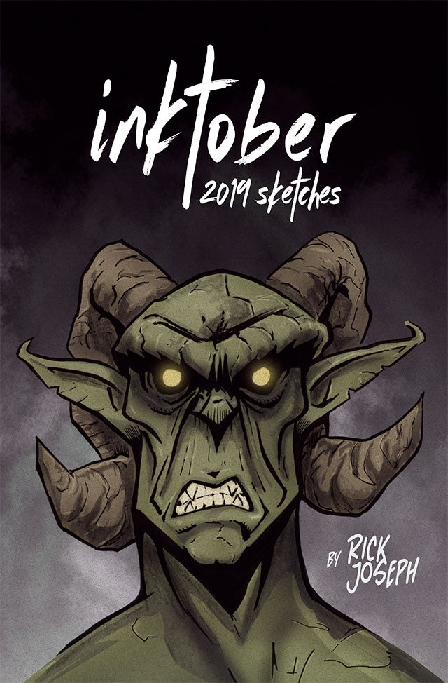 Image of INKTOBER 2019 SKETCHES  (Artbook)
