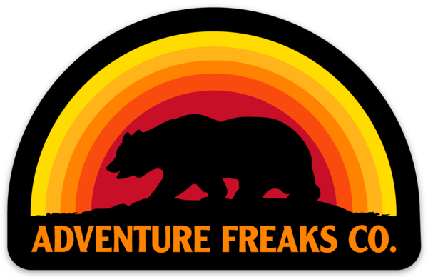 Image of Adventure Bear Sticker