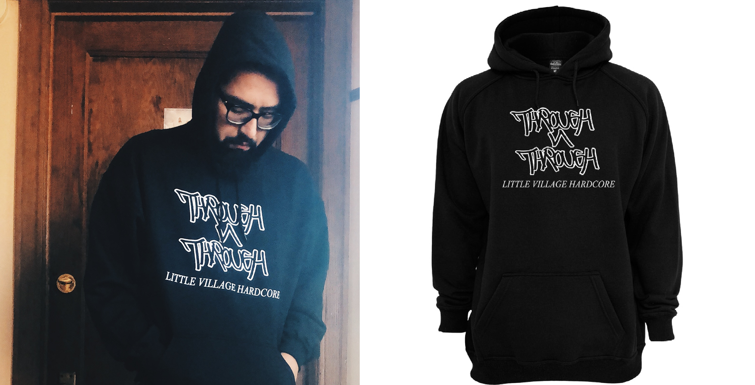 Image of Through N Through Logo Hoodie