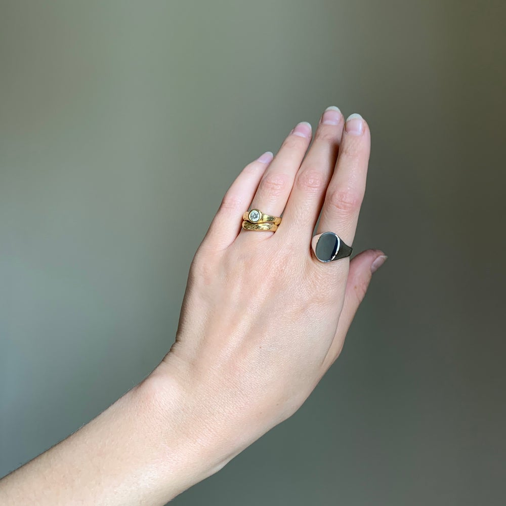 Image of Oval Signet Ring