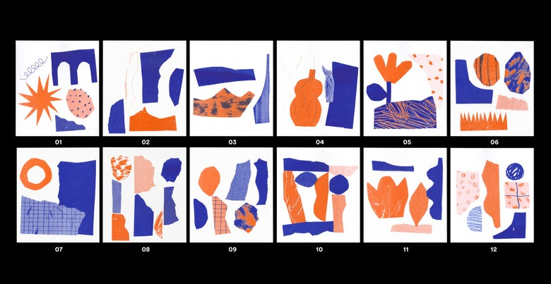 Image of Mini Abstract Collages