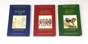 Image of Three Musketeers, Heidi, Black Beauty Book Wallets