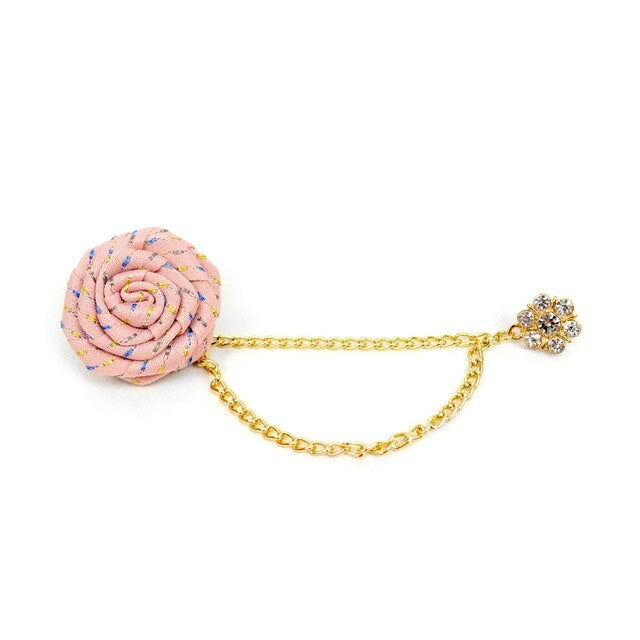 Image of Flower Boutonniere Clutch Back Lapel Pins