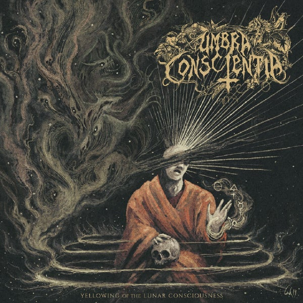 "Image of Umbra Conscientia - Yellowing of the Lunar Conciousness 12"" LP"