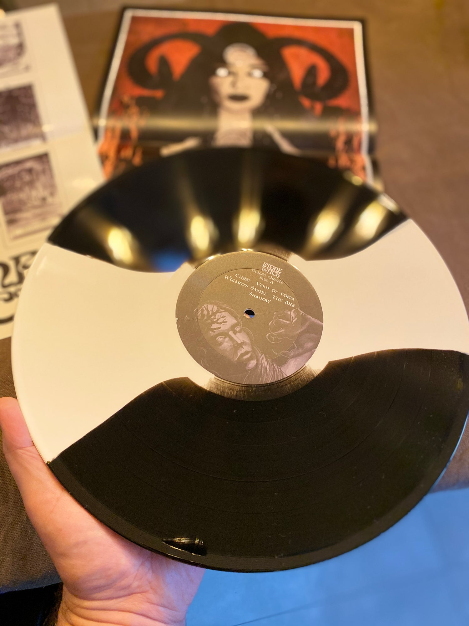 """Image of Stone Witch """"Desert Oracle"""" Black Seed Vinyl Edition"""