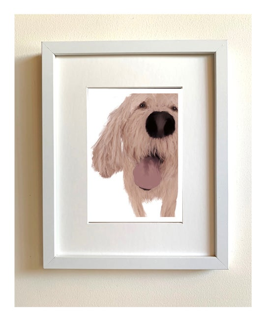 Image of Small framed print