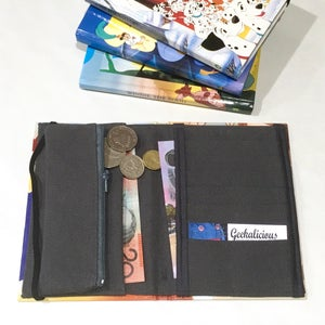 Image of Aladdin, 101 Dalmations, Winnie the Pooh Book Wallets