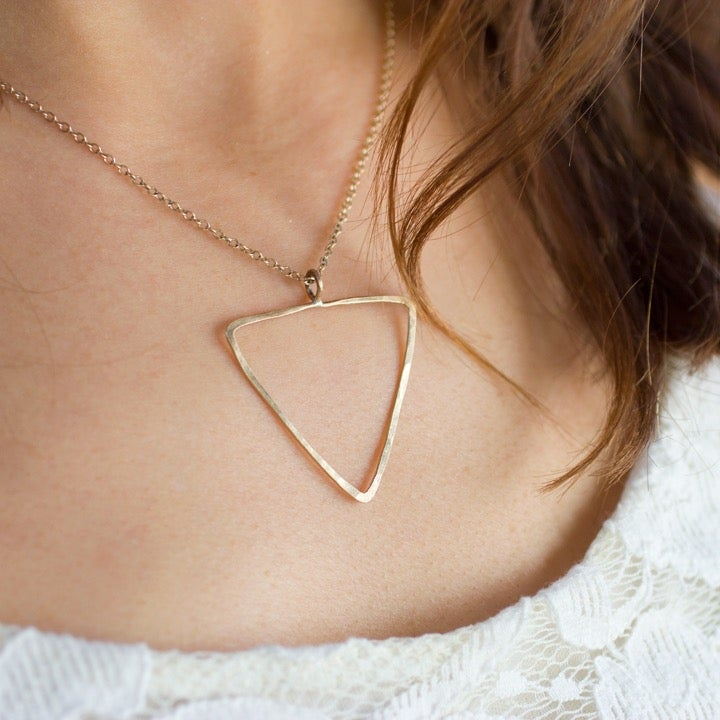 Image of Golden vessel necklace