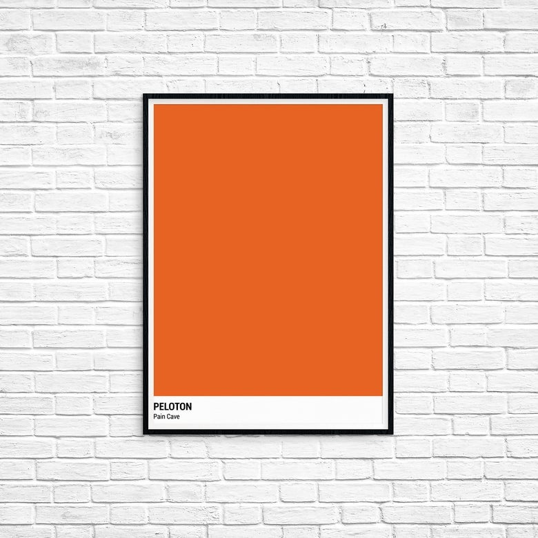 Peloton Prints - Pain Cave
