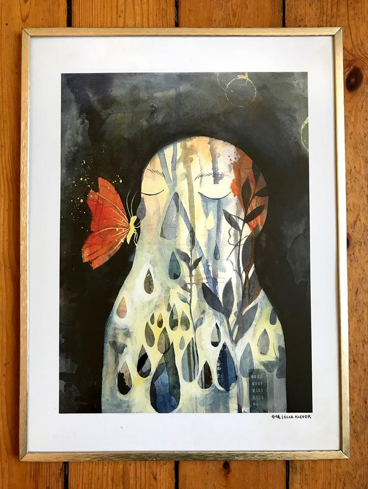 """Image of Framed Artprint """"Ella"""""""