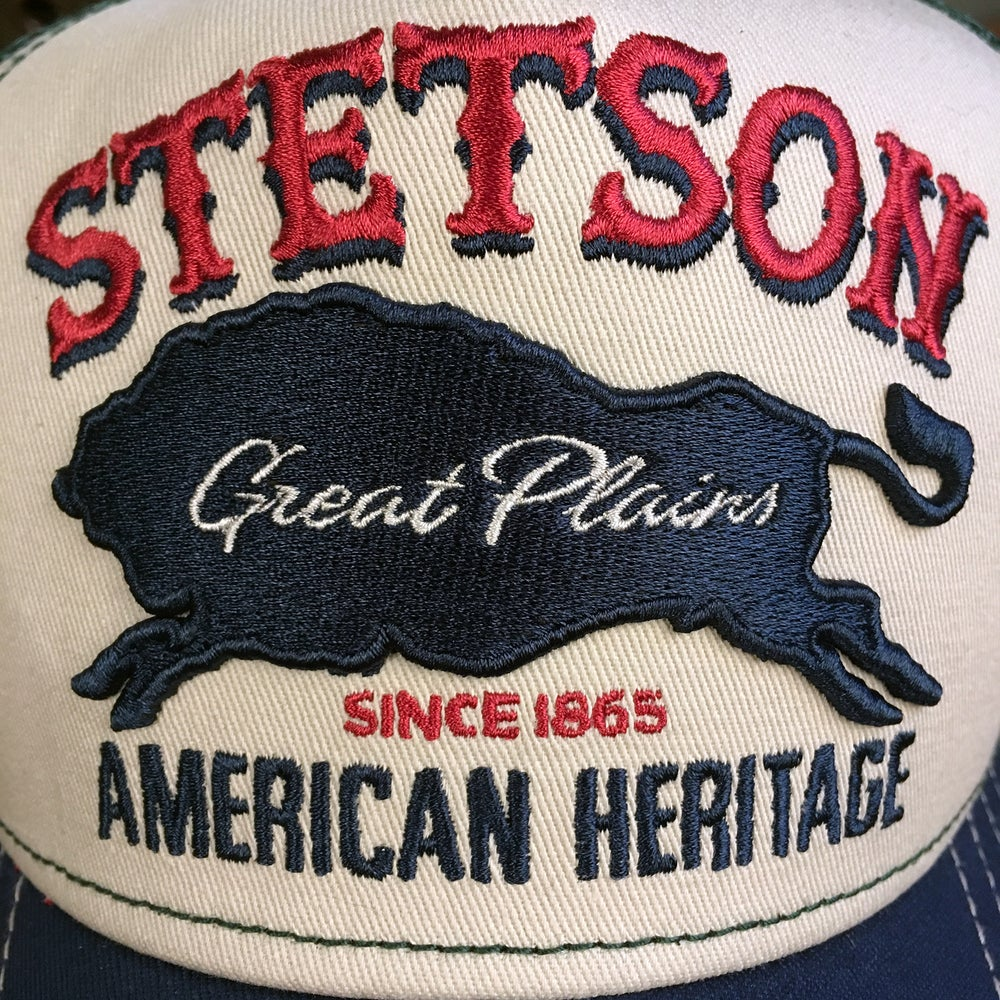 "Image of STETSON MESH CAP ""GREAT PLAINS"""