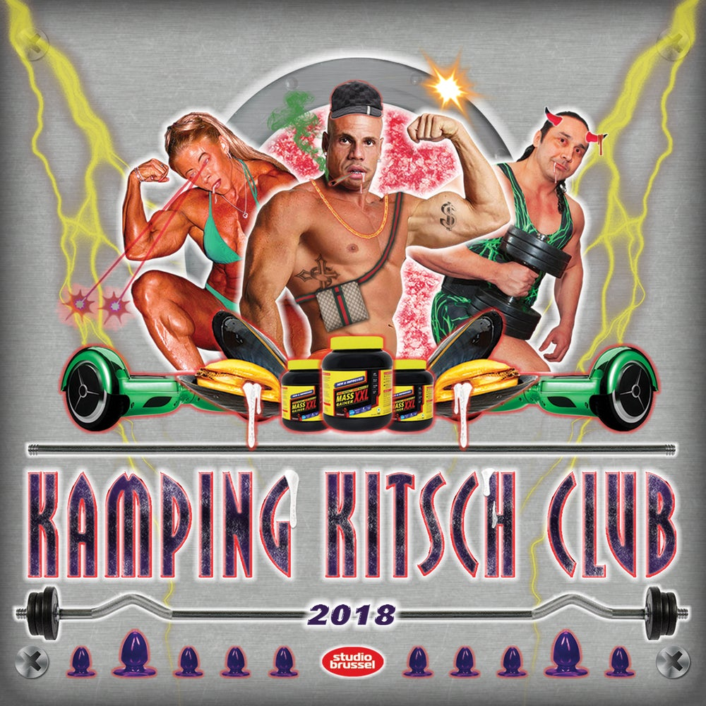 Image of KAMPING KITSCH CLUB – THE COMPILATION 2018 (3CD)