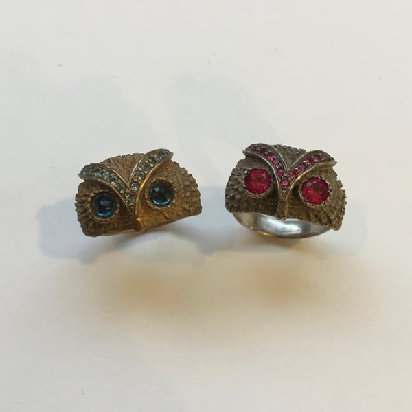 Image of Chunky Owl Ring