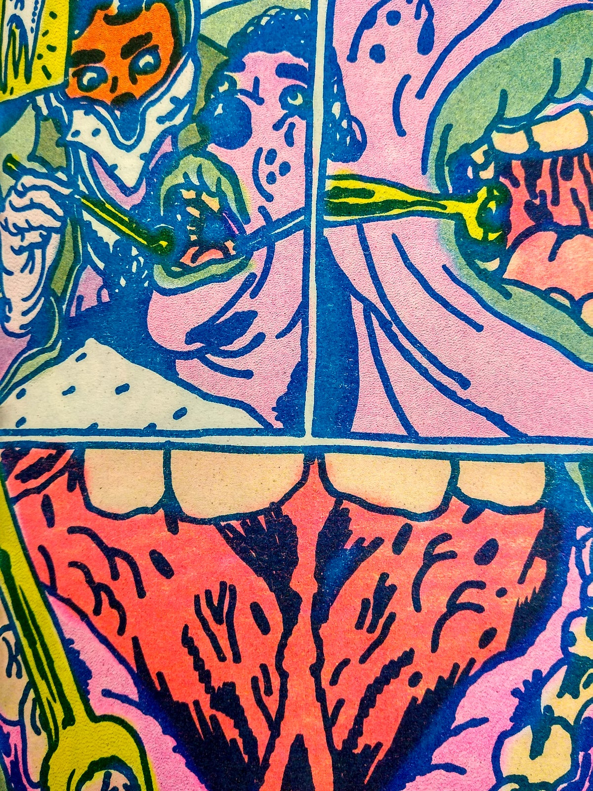 Image of Pain Courtain Comics