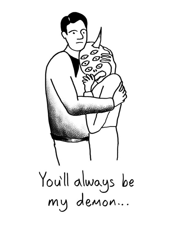Image of MY DEMON - SIGNED A4 PRINT
