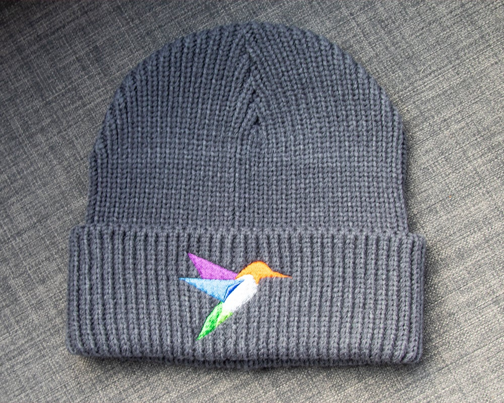 Image of Hummingbird Knit Graphite Hat