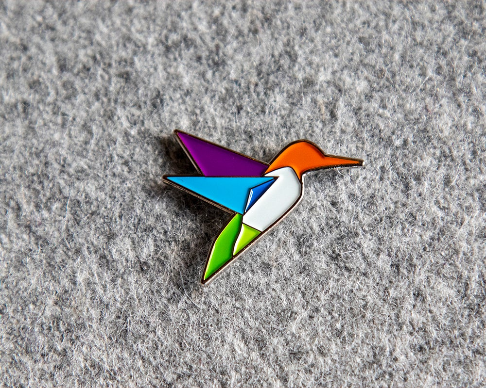 Image of Hummingbird Pin