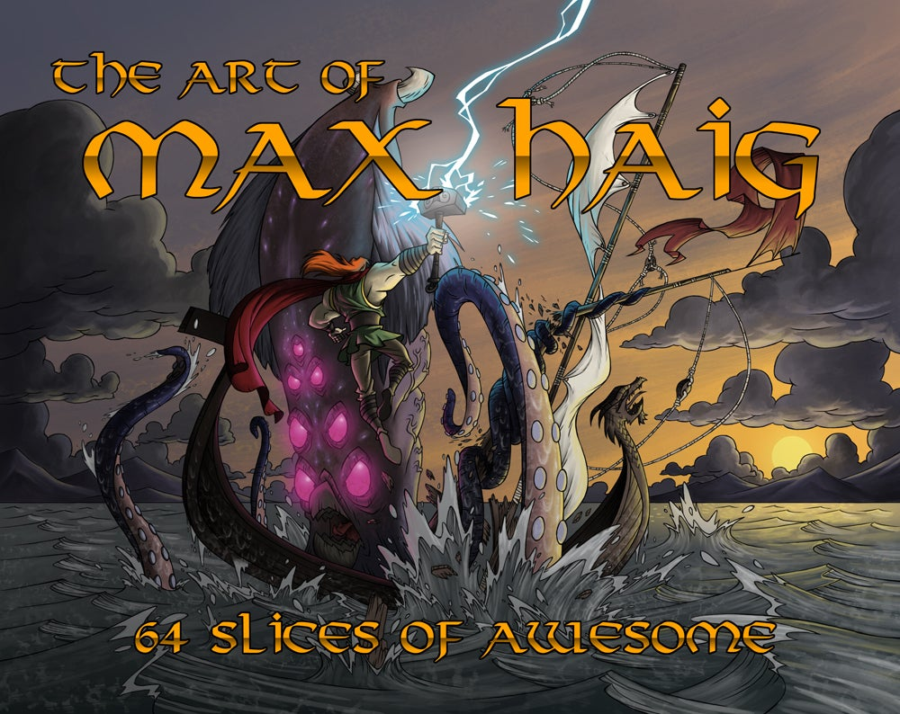 Image Of The Art Max Haig 64 Slices Awesome
