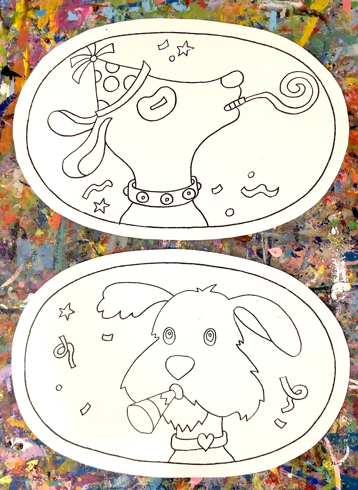 Image of Paint your Own - Canvas Placemat