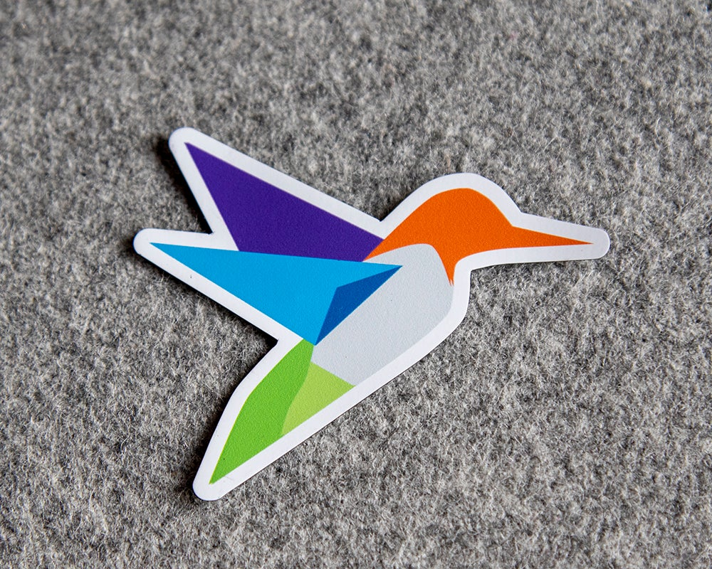 Image of Hummingbird Sticker/Magnet