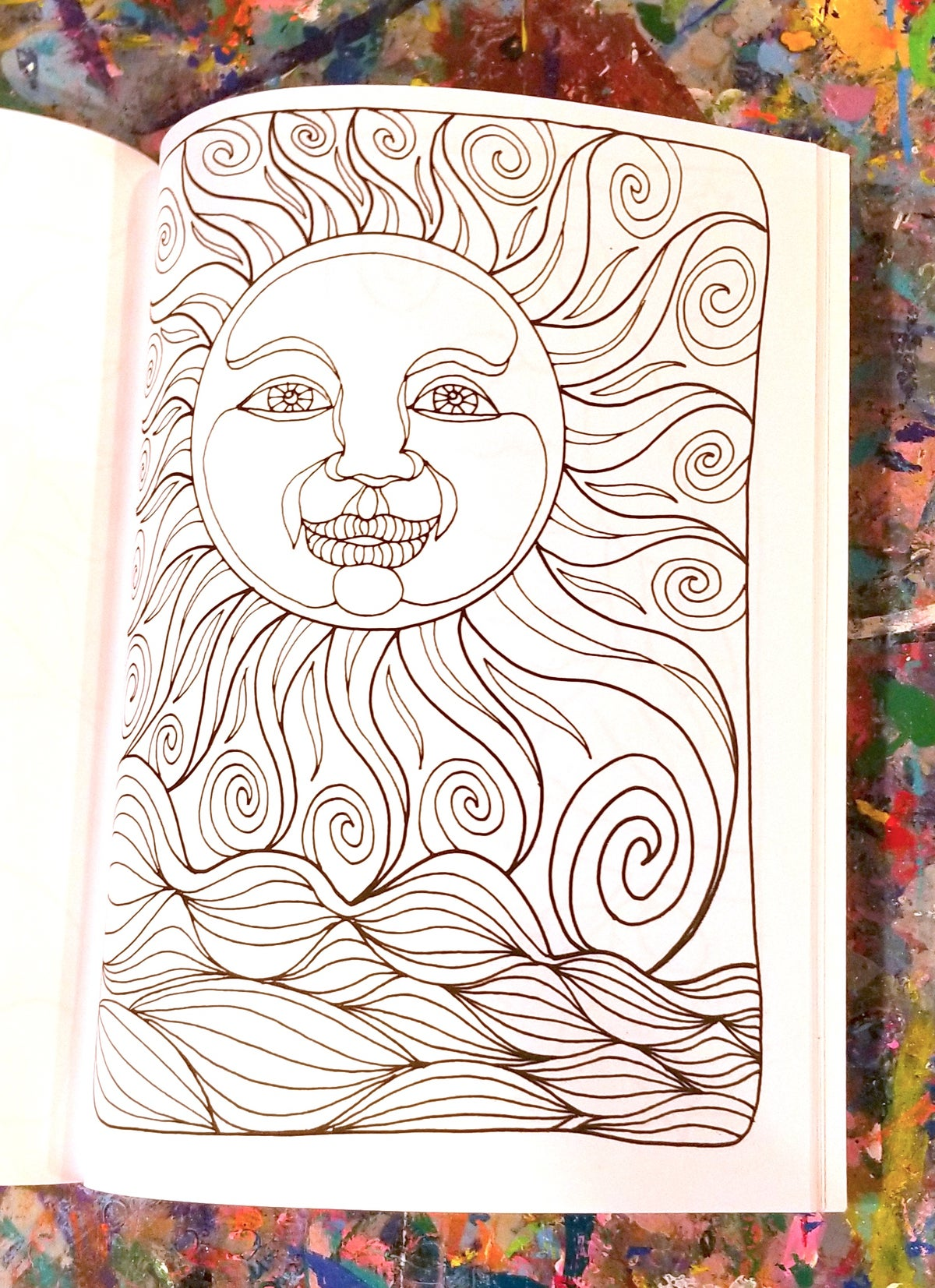 Image of Coloring Book - Simply Jane/ArtAble
