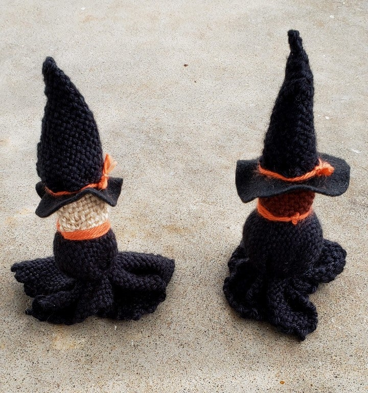 Image of Witch, soft sculpture, handwoven