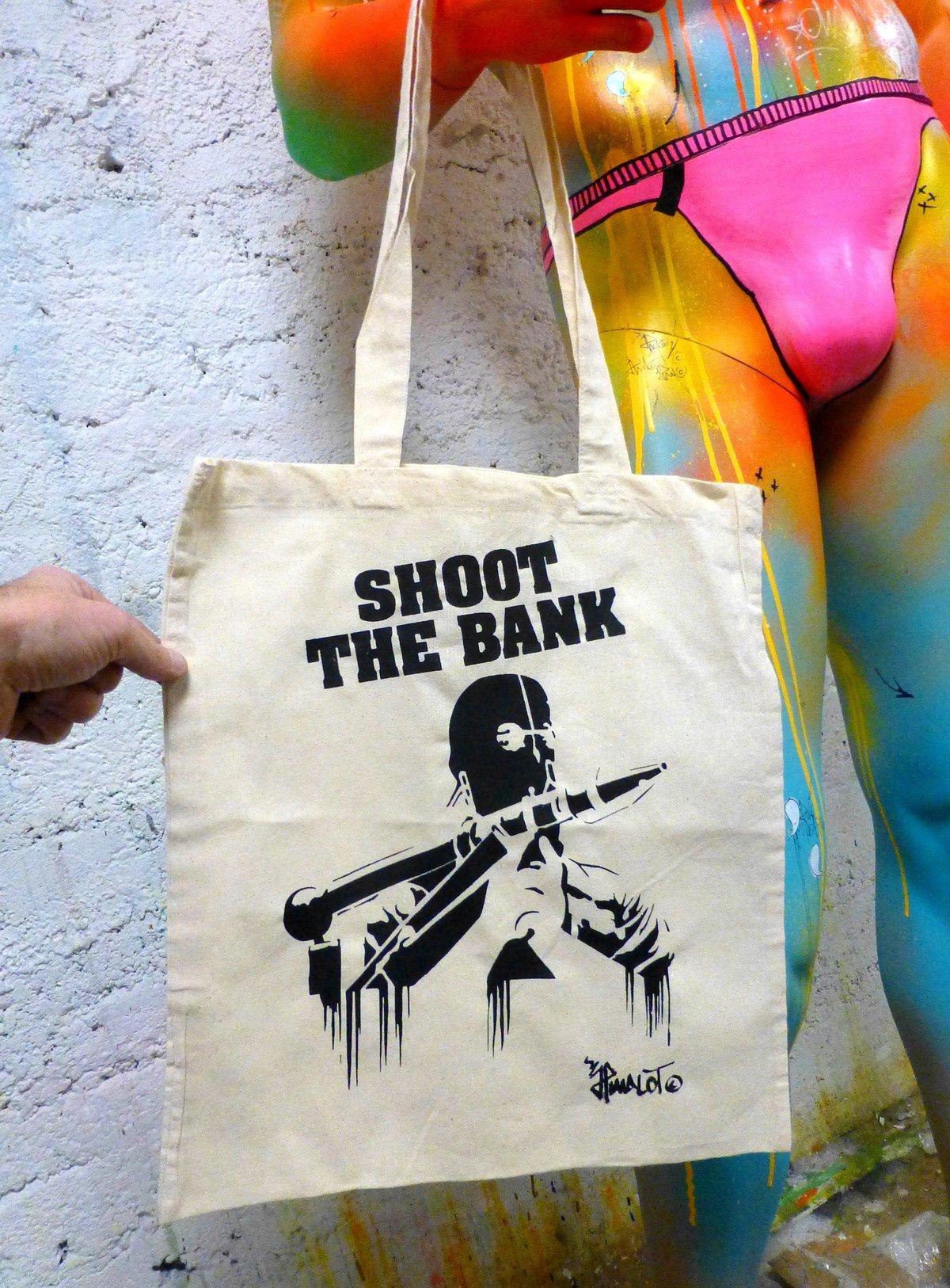 Image of TOTE BAG SHOOT THE BANK