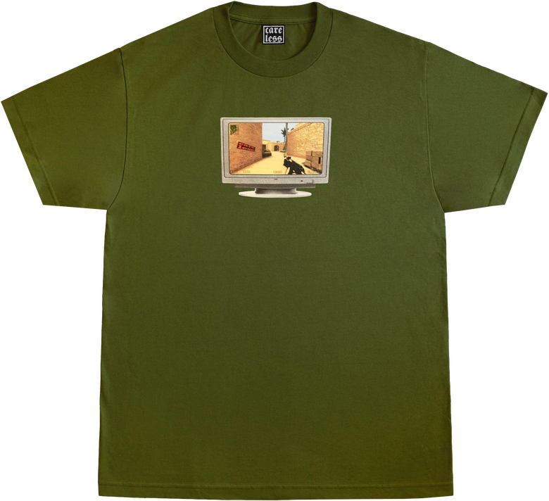 Image of DUST2 SHIRT - MILITARY GREEN