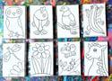 "4"" x 6"" Canvas - variety of designs"