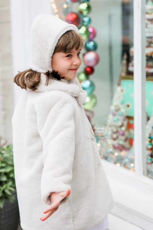 Image of Pippa Pom Pom Luxury Faux Fur Coat
