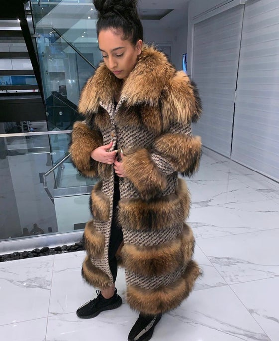 Image of Nadia Fur Coat (long length)