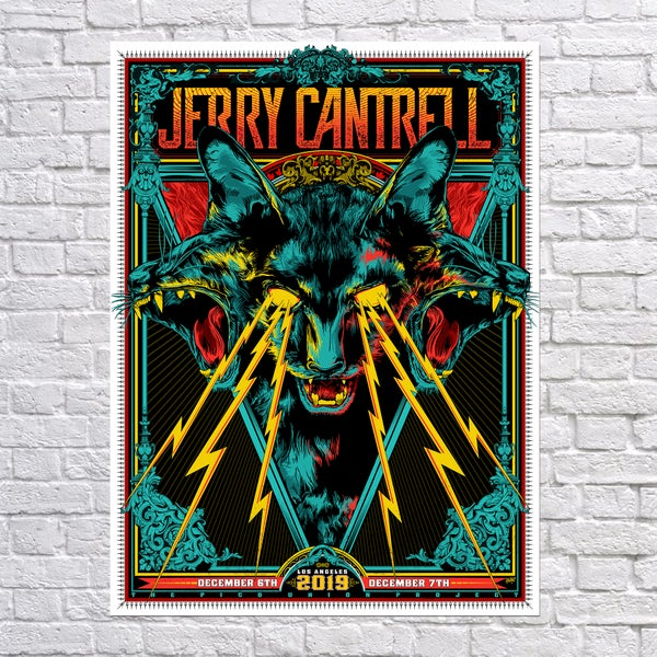 """Image of Jerry Cantrell """"Purrberus"""" - Los Angeles, Ca"""